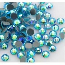 Термоклеевые стразы Aquamarine AB